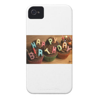 Happy Birthday Cupcakes Case-Mate iPhone 4 Case