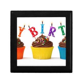 Happy birthday cupcakes keepsake box