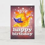 Happy Birthday! Custom Magical Kid's Dragon Card