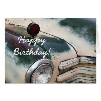 Happy Birthday Custom Truck greeting card