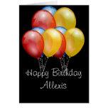 Happy Birthday Customizable Card