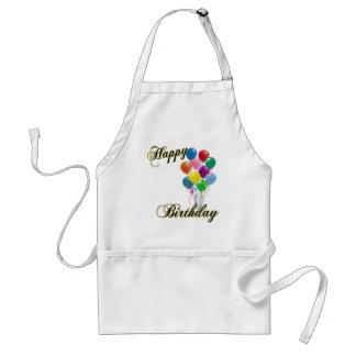 Happy Birthday - Customize Cooking Apron