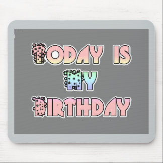 Happy Birthday! Customize Product Mouse Pad