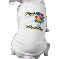 Happy Birthday - Customize Tee