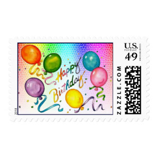 Happy Birthday - Customized Postage