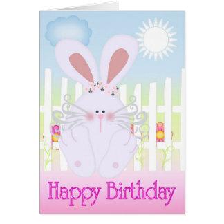 Happy Birthday Cute as a Bun Card
