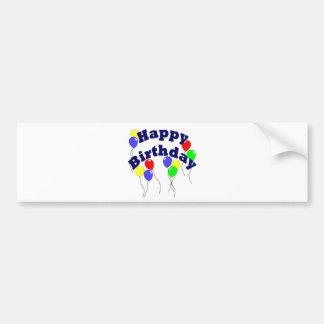 Happy Birthday - D2 Bumper Sticker Car Bumper Sticker