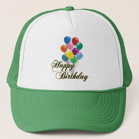 Happy Birthday - D4 Birthday Hat