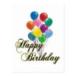 Happy Birthday - D4 Postcard