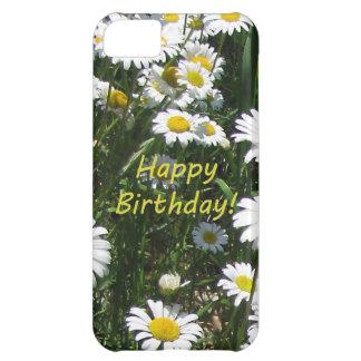 Happy Birthday Daisies iPhone 5C Case
