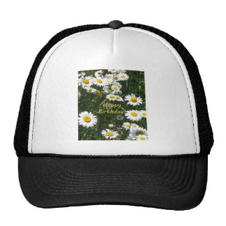 Happy Birthday Daisies Trucker Hat