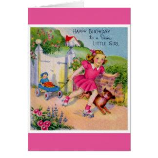 Happy Birthday - Dear Little Girl Card