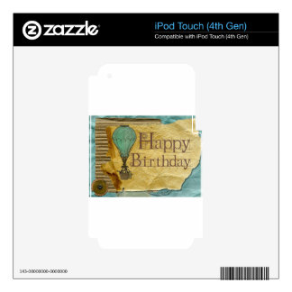 Happy-Birthday Decals For iPod Touch 4G