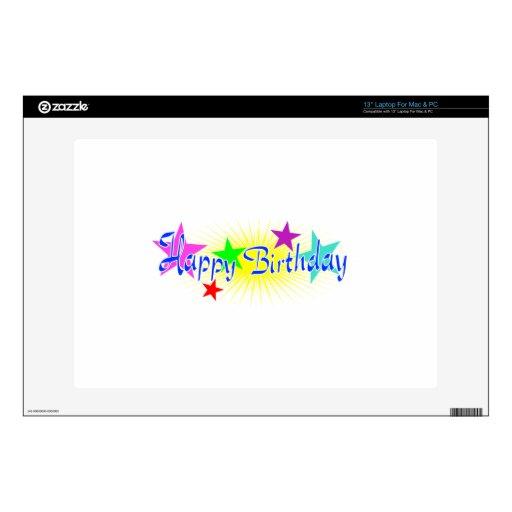 Happy Birthday Decals For Laptops