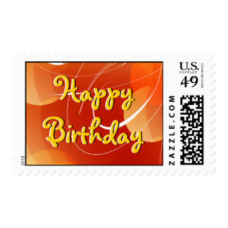 Happy Birthday Design Stamp