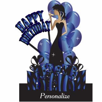 Happy Birthday Diva Girl | DIY Name | Sapphire Statuette