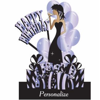 Happy Birthday Diva Girl | DIY Name | Tanzanite Statuette