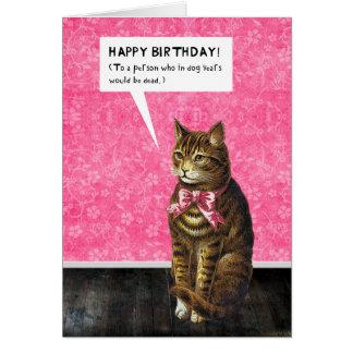 HAPPY BIRTHDAY - Dog Years Dead Card