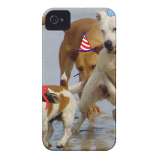 happy birthday dogs iPhone 4 Case-Mate case