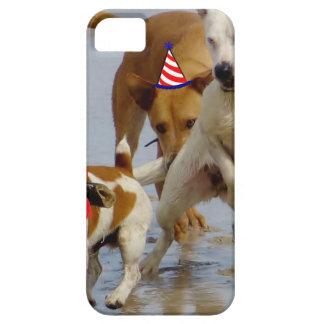 happy birthday dogs iPhone 5 cases