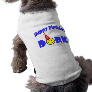 Happy Birthday Dork Party Hat T-Shirt
