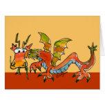 Happy Birthday Dragon Breath Funny Card