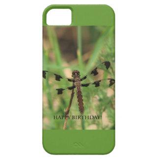 Happy Birthday Dragon Fly iPhone 5/5S Case