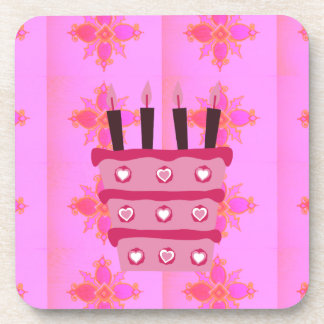 Happy Birthday Drink Coaster