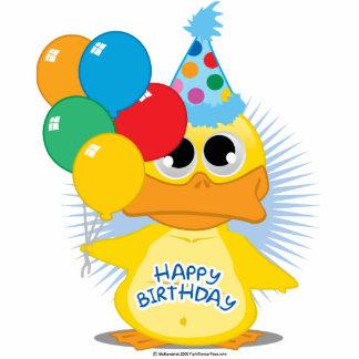 Happy Birthday Duck Statuette