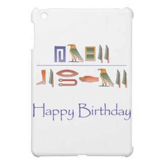 Happy Birthday Egyptian Hieroglyphics Case For The iPad Mini