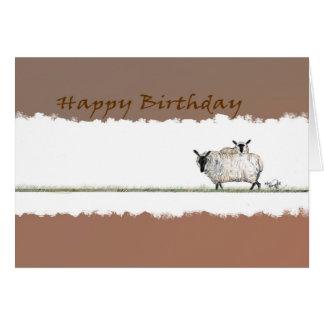 Happy Birthday Ewe card