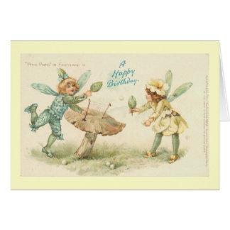 Happy Birthday Faeries Card
