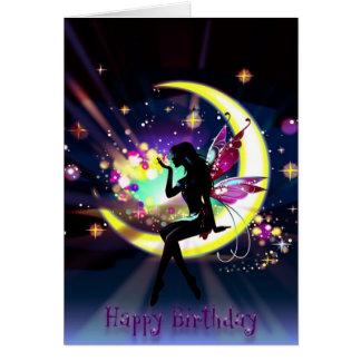 Happy Birthday Fairy Card