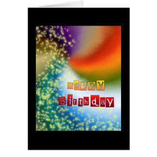 Happy Birthday Fairy Dust Card