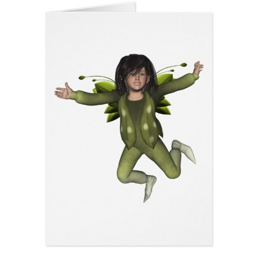Happy Birthday Fairy Paulette Greeting Card