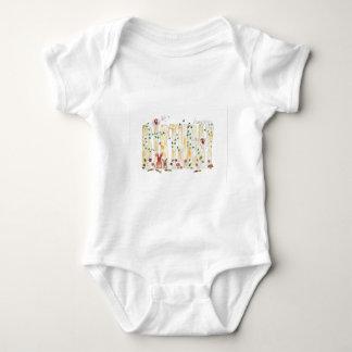 Happy Birthday -Fairy Woodland Baby Bodysuit