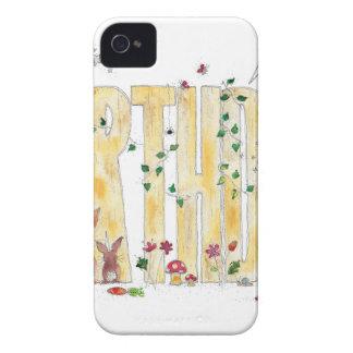 Happy Birthday -Fairy Woodland iPhone 4 Case-Mate Case