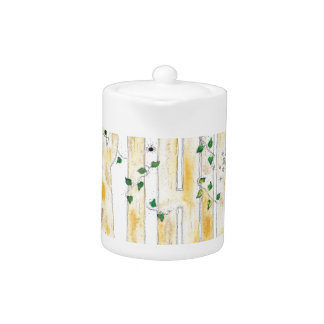 Happy Birthday -Fairy Woodland Teapot
