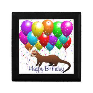 Happy Birthday Ferret Gift Box