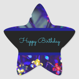 Happy Birthday Festive Celebration Stickers