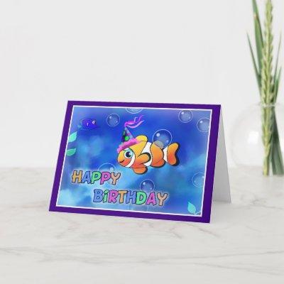 http://rlv.zcache.com/happy_birthday_fish_style_013_card-p137675710393372535b21fb_400.jpg