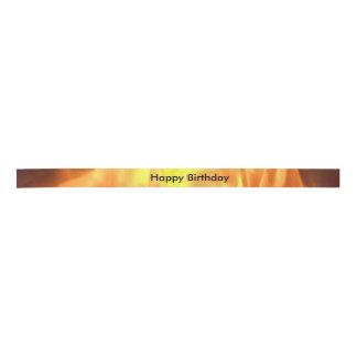 """Happy Birthday"" Flame Ribbon"