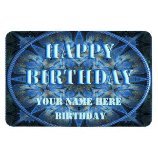 Happy Birthday Flexible Magnet