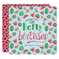 Happy Birthday Floral Flowers | Greeting card