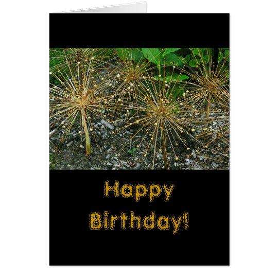 """HAPPY BIRTHDAY/FLORAL/PHOTOG CARD"