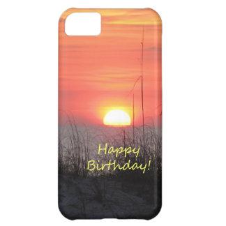 Happy Birthday Florida Sunset iPhone 5C Cases