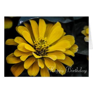 Happy Birthday- Flower Card