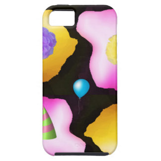Happy birthday flowers design iPhone SE/5/5s case