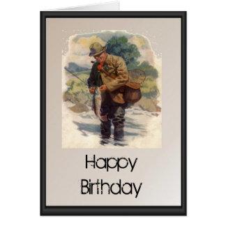 Fishing birthday for men cards zazzle for Fishing birthday wishes