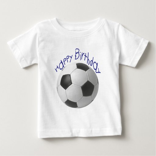 Happy Birthday Football  Gifts T Shirt